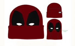 MARVEL -  TUQUE DEADPOOL - ROUGE