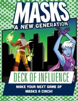 MASKS: A NEW GENERATION -  DECK OF INFLUENCE (ANGLAIS)
