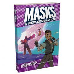 MASKS: A NEW GENERATION -  UNBOUND - COUVERTURE SOUPLE (ANGLAIS)