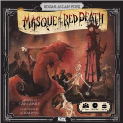 MASQUE OF RED DEATH (ANGLAIS)