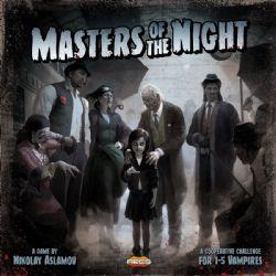 MASTERS OF THE NIGHT (ANGLAIS)