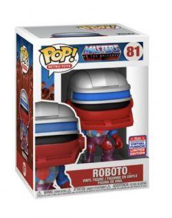 MASTERS OF THE UNIVERSE -  FIGURINE POP! EN VINYLE DE ROBOTO (10 CM) -  RETRO TOYS 81