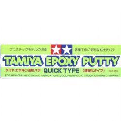 MASTIC -  MASTIC EPOXY TAMIYA POUR MODÈLE À COLLER EN PLASTIQUE 25G