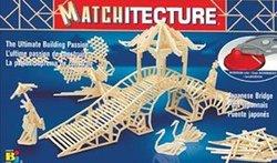 MATCHITECTURE -  PONT JAPONAIS (500 MICROMADRIERS)