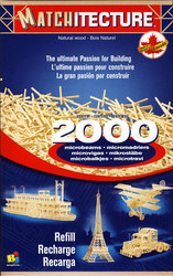 MATCHITECTURE -  RECHARGE DE 2000 MICROMADRIERS