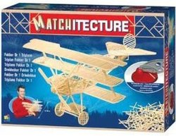 MATCHITECTURE -  TRIPLAN FOKKER DR 1 (1050 MICROMADRIERS)
