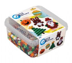 MAXI BEADS -  HAMA BEAD THERAPY (900 PIECES)