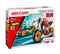 MECCANO -  MOTOS OU VOITURES - 5 EN 1 19201