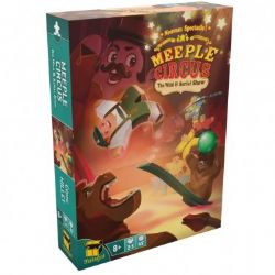 MEEPLE CIRCUS -  THE WILD ANIMAL AND AERIAL SHOW (MULTILINGUE)