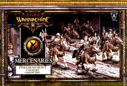 MERCENARIES -  STEELHEAD HEAVY CAVALRY - CAVALRY UNIT -  WARMACHINE