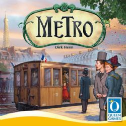 METRO -  JEU DE BASE (ANGLAIS)