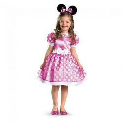 MICKEY ET SES AMIS -  COSTUME DE MINNIE ROSE (ENFANT)