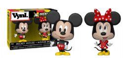 MICKEY ET SES AMIS -  FIGURINE EN VINYLE DE MICKEY ET MINNIE MOUSE (10 CM)
