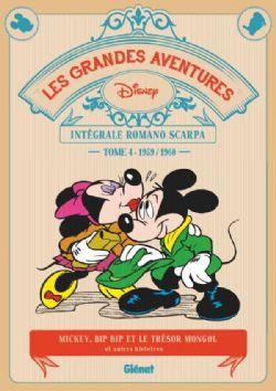 MICKEY ET SES AMIS -  INTEGRALE ROMANO SCARPA -04-  1959-1960 -  GRANDES AVENTURES, LES 04