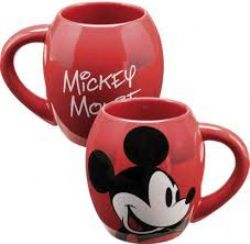MICKEY ET SES AMIS -  TASSE DE MICKEY MOUSE - ROUGE