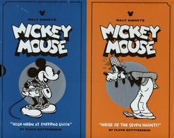 MICKEY MOUSE -  DISNEY MICKEY MOUSE BOX SET HC VOL 03 & 04 03/0