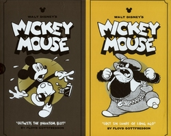 MICKEY MOUSE -  DISNEY MICKEY MOUSE BOX SET HC VOL 05 & 06 05/06