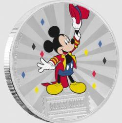MICKEY MOUSE ET SES AMIS -  MICKEY MOUSE ET SES AMIS AU CARNAVAL : MICKEY MOUSE -  PIÈCES DE LA NEW ZEALAND MINT (NOUVELLE ZÉLANDE) 2019 01
