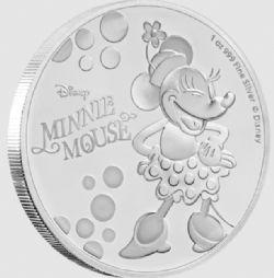 MICKEY MOUSE ET SES AMIS -  MINNIE MOUSE -  PIÈCES DE LA NEW ZEALAND MINT (NOUVELLE ZÉLANDE) 2019