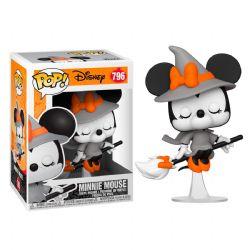 MICKEY MOUSE -  FIGURINE POP! EN VINYLE DE  HALLOWEEN MINNIE MOUSE (10 CM) 796
