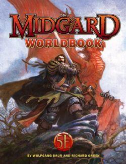 MIDGARD -  WORLDBOOK HC (ANGLAIS)