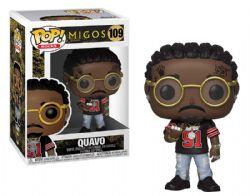 MIGOS -  FIGURINE POP! EN VINYLE DE QUAVO (10 CM) 109