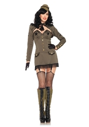 MILITAIRE -  COSTUME PIN UP DE L'ARMÉE