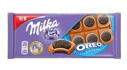 MILKA -  CHOCOLAT AU LAIT ET SANDWICH OREO