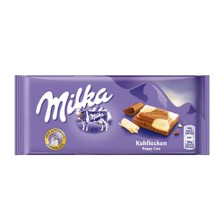MILKA -  CHOCOLAT BLANC ET AU LAIT