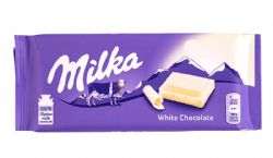 MILKA -  CHOCOLAT BLANC