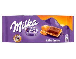 MILKA -  CHOCOLAT CRÈME TOFFEE