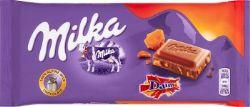 MILKA -  CHOCOLAT DAIM