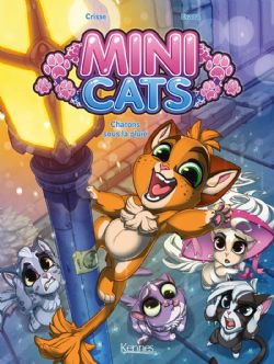 MINI CATS -  CHATONS SOUS LA PLUIE 01