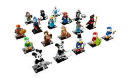 MINI-PERSONNAGE -  1 MINI-PERSONNAGE ALÉATOIRE LEGO - 18 À COLLECTIONNER -  DISNEY 71024