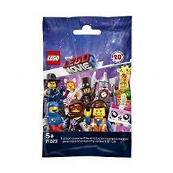 MINI-PERSONNAGE -  1 MINI-PERSONNAGE ALÉATOIRE LEGO - 20 À COLLECTIONNER -  THE LEGO MOVIE 2