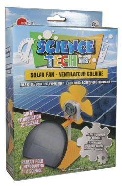 MINI TECHNO SCIENCE KIT -  VENTILATEUR SOLAIRE (MULTILINGUE)