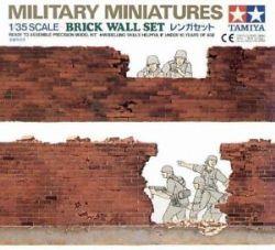 MINIATURES MILLITAIRE -  ENSEMBLE MUR DE BRIQUES (FACILE)