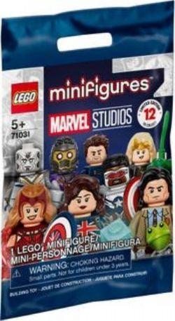 MINIFIGURES -  1 MINI-PERSONNAGE ALÉATOIRE LEGO - 12 À COLLECTIONNER -  MARVEL STUDIOS