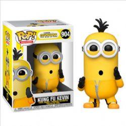 MINIONS -  FIGURINE POP! EN VINYLE DE KUNG FU KEVIN (10 CM) -  THE RISE OF GRU 904