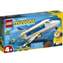 MINIONS -  PILOTE EN ENTRAINEMENT (119 PIÈCES) -  IL ÉTAIT UNE FOIS GRU 75547