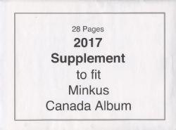 MINKUS CANADA -  SUPPLÉMENT 2017 - NON OFFICIEL