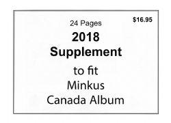 MINKUS CANADA -  SUPPLÉMENT 2018 - NON OFFICIEL