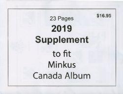 MINKUS CANADA -  SUPPLÉMENT 2019 - NON OFFICIEL