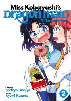 MISS KOBAYASHI'S DRAGON MAID -  (V.A.) -  ELMA'S OFFICE LADY DIARY 02