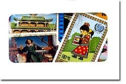 MONGOLIE -  100 DIFFÉRENTS TIMBRES - MONGOLIE