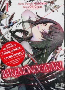 MONOGATARI -  PACK DÉCOUVERTE TOME 01 ET 02   (V.F.) -  BAKEMONOGATARI