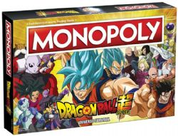 MONOPOLY -  DRAGON BALL SUPER : UNIVERSE SURVIVAL (ANGLAIS)