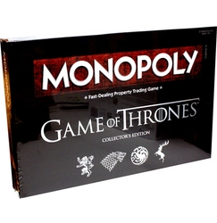 MONOPOLY -  GAME OF THRONES COLLECTOR'S EDITION
