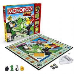 MONOPOLY JUNIOR -  JEU DE BASE (MULTILINGUE)