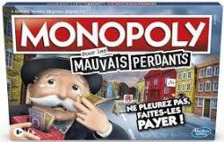 MONOPOLY -  MAUVAIS PERDANTS (BILINGUE)